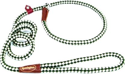 Picture of Remington R0216-GRN06 Braided Rope Slip Dog Leash, 6', Green