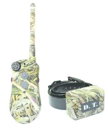 Picture of DT Systems H2O1820P COVERUP Camo Remote Dog Training Collar, with Vibration AssistTransmitter, 16 Levels Stimulation, 1 Mile Range