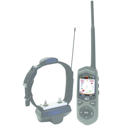 Picture of DT Systems TC1 Border Patrol GPS Wireless Electronic Dog Fence, Includes Collar/GPS Handheld Unit/Charger/Boundary Flags, 5 Mile Range