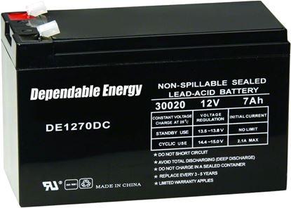 Picture of American Hunter DE-30020 DE1270DC 12V 7 Amp Hr Rechargeable Battery