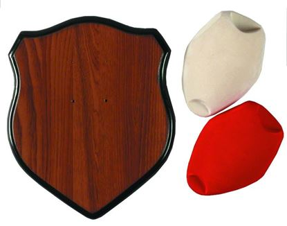 Picture of Hunters Specialties 00639 Deer Antler Mounting Kit w/Red & Creme Caps