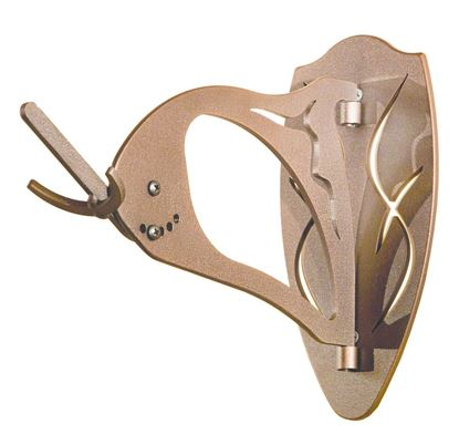 Picture of Skull Hooker BH-ASSY BROWN Big Hooker Skull Mounting Bracket, Large to Extra Large Trophies, Brown