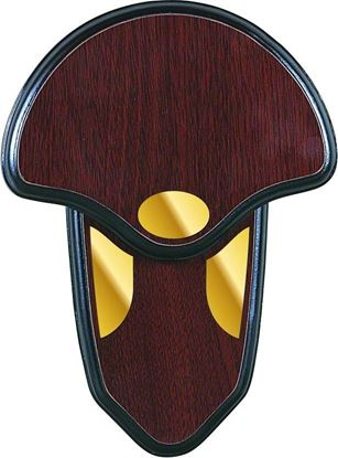 Picture of Allen 566 Turkey Tail Mounting Kit, Hardwood Plaque