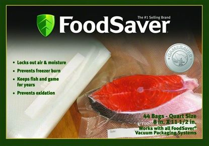 Picture of Foodsaver FSGSBF0226-000 Bags Quart Size 44 Count
