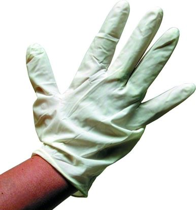 Picture of Pete Rickard 8510 Disposible Latex Gutting Gloves, Wrist Length