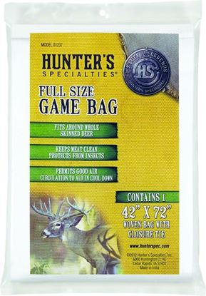 """Picture of Hunters Specialties 01237 Full Size Game Dressing Bag 40"""" x 72"""""""