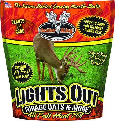 Picture of Antler King AKLO12 Lights Out Forage Oats- 12lb Bag Covers 1/4 Acre
