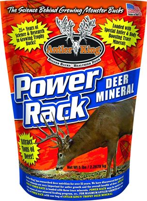 Picture of Antler King AKPR5 Power Rack Deer Mineral 5lb Bag