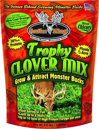 Picture of Antler King AKTCM Trophy Clover Mix 3.5lb bag covers 1/2 acre