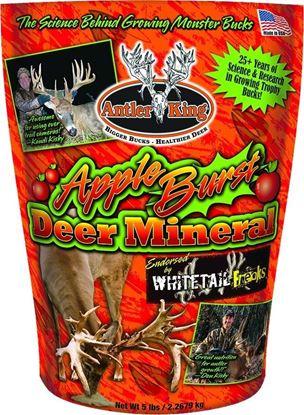 Picture of Antler King AKABDM5 Apple Burst Deer Mineral- 5lb Bag