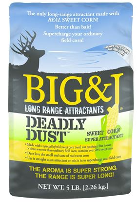Picture of BIG&J BB2-DD5 Deadly Dust Sweet Corn Attractant, 5Lb Bag