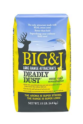 Picture of BIG&J BB2-DD15 Deadly Dust Sweet Corn Attractant, 15Lb Bag