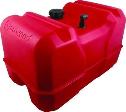 """Picture of Attwood 8812LPG2 Portable Fuel Tank 12 Gallon 1/4"""" NPT Fittings, EPA and CARB Certified"""