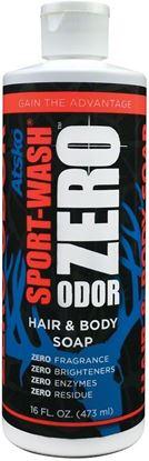 Picture of Atsko 1345BZ Zero Sport Wash Hair & Body Soap 16 fl oz