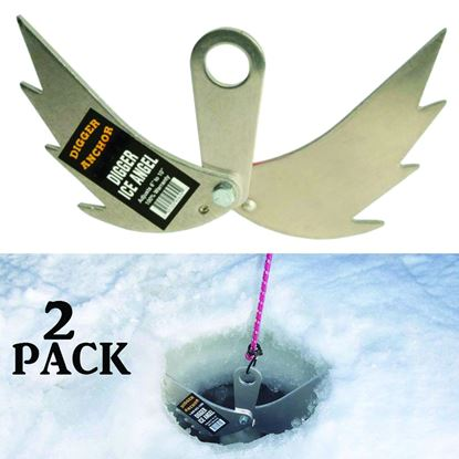 Picture of Digger D-30 Ice Angels (Pair) Dry Hole Ice Anchor