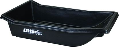 Picture of Otter 200816 Small Ultra-Wide Sled Roto-Molded Black