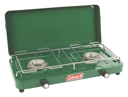 Picture of Coleman 2000030004 2 Burner Basic Propane Stove with Lid
