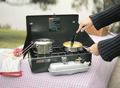 Picture of Coleman 3000003648 Dual Fuel Stove 2-Burner