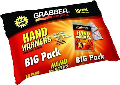 Picture of Grabber HWPP10 Big Pack Hand Warmers 10 Pack of Small 7Hrs