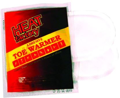 Picture of Heat Factory 19452 Adhesive Toe Warmers, 2 pair Multi-Pack