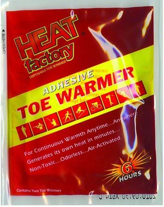 Picture of Heat Factory 1945 Adhesive Toe Warmers Last Up To 5 Hours, 2 pk