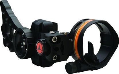 Picture of Apex Gear AG2311B Covert Single Pin Bow Sight, 1 Light, Versa-Pin, Black