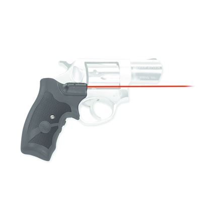 Picture of Crimson Trace LG-303 Lasergrips Laser Sight, Black, Pressure Sensor Activation, Red Laser, Fits Ruger SP101 Revolvers