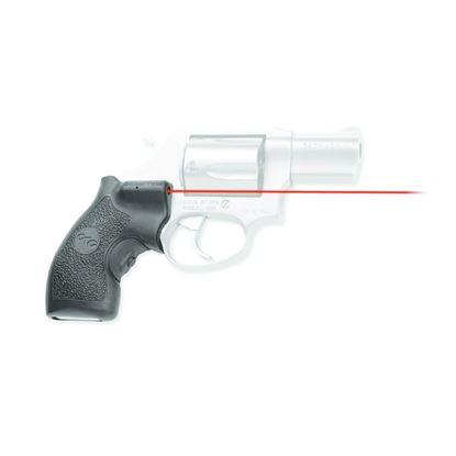 Picture of Crimson Trace LG-185 Lasergrips Laser Sight, Black, Pressure Sensor Activation, Red Laser, Fits Taurus Revolvers