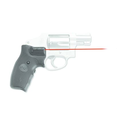 Picture of Crimson Trace LG-305 Lasergrips Laser Sight, Black, Pressure Sensor Activation, Red Laser, Fits S&W J-Frame Revolvers