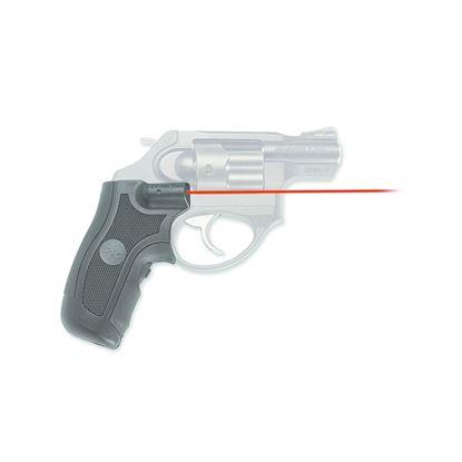 Picture of Crimson Trace LG-415 Lasergrips Laser Sight, Black, Pressure Sensor Activation, Red Laser, Fits Ruger LCR/X