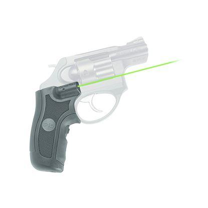 Picture of Crimson Trace LG-415G Lasergrips Laser Sight, Black, Pressure Sensor Activation, Green Laser, Fits Ruger LCR/X
