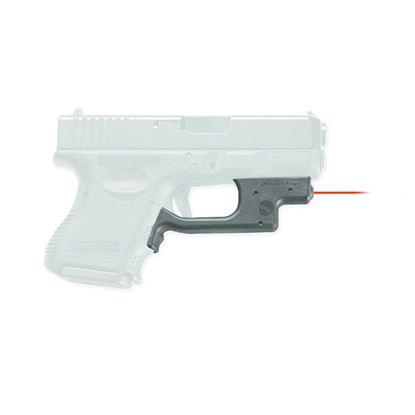 Picture of Crimson Trace LG-436 Laserguard Laser Sight, Black, Pressure Sensor Activation, Red Laser, Fits Glock Compact Pistols