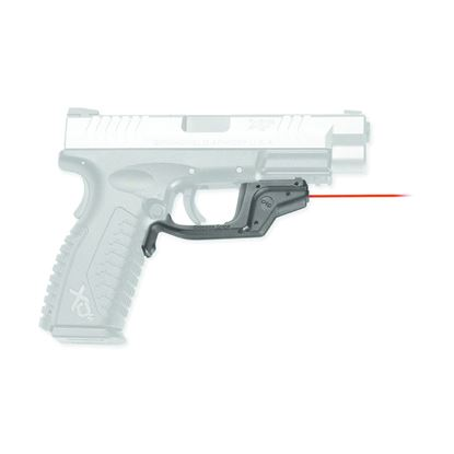 Picture of Crimson Trace LG-448 Laserguard Laser Sight, Black, Pressure Sensor Activation, Red Laser, Fits Springfield XD Pistols