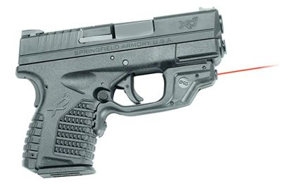 Picture of Crimson Trace LG-469 Laserguard Laser Sight, Black, Pressure Sensor Activation, Red Laser, Fits Springfield Armory XD-S