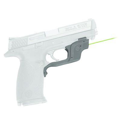 Picture of Crimson Trace LG-360G Laserguard Laser Sight, Black, Pressure Sensor Activation, Green Laser, Fits S&W M&P Pistols