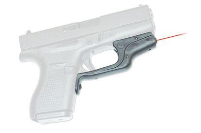 Picture of Crimson Trace LG-443 Laserguard Laser Sight, Black, Pressure Sensor Activation, Red Laser, Fits Glock 42 and 43 Pistols