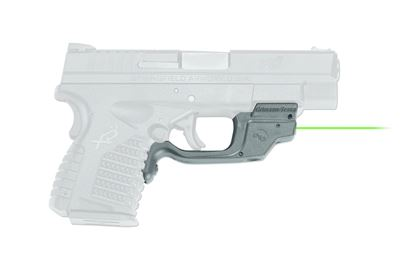 Picture of Crimson Trace LG-469G Laserguard Laser Sight, Laser Sight, Springfield XDS 9mm & 45ACP Green