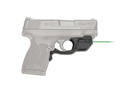 Picture of Crimson Trace LG-485G Laserguard Laser Sight for Smith & Wesson M&P 45 Shield, green
