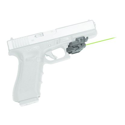 Picture of Crimson Trace CMR-206 Rail Master Laser Sight, Black, Switch Activation, Green Laser, Fits Rail-Equipped Pistols, Rifles & Shotguns