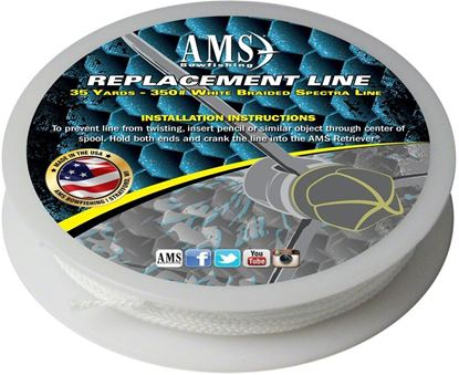 Picture of AMS L21-35 Replacement Line - 35 yards of 350# Spectra