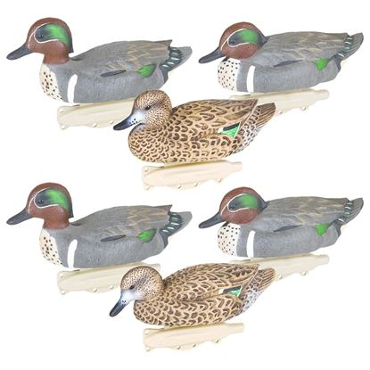 Picture of Flambeau 8015SUV Storm Front 2 Classic Green-Winged Teal Decoys, HD Winter Plumage, UVision Paint, 6 Pack