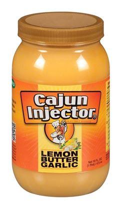 Picture of LEM 17401606 Lemon Butter Garlic Injectable Marinade Refill, 16 fl oz