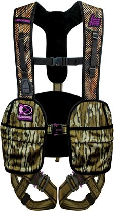 Picture of Hunter Safety System LADY-M S/M MO Lady Hybrid Safety Harness w/Elimishield, S/M, 100-175 lbs