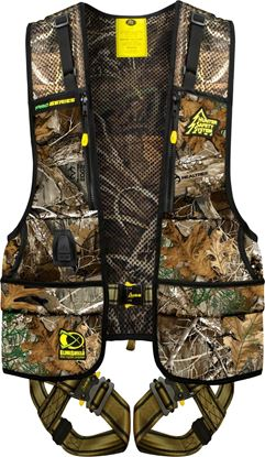 Picture of Hunter Safety System PRO-R L/XL RT Pro-Series Safety Harness w/Elimishield, L/XL, 175-250 lbs