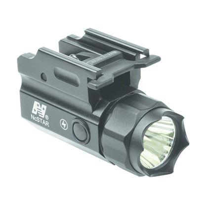 Picture of NcSTAR ACQPTF Rail Mount 150 Lumen LED Compact Flashlight QR w/Strobe