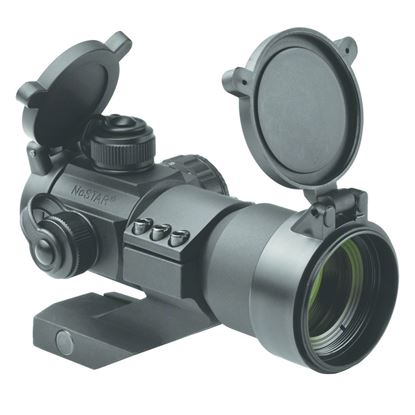 Picture of NcSTAR DRGB135 Tactical Red/Green/Blue Dot Sight 35mm Cantilever Weaver Mount