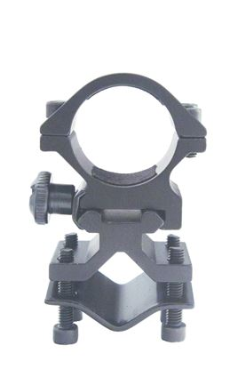 """Picture of Predator Tactics 97393 Tactical Rifle Mount 1""""Ring 70mm Hgt Scope Base Mounts to Picatinny Rails"""