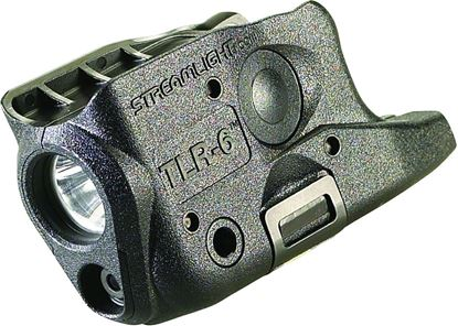 Picture of Streamlight 69272 TLR-6 G26/27 Tactical gun mounted flash- light, fits Glock 26/27, C4 LED and red laser, CR123A LiBatt