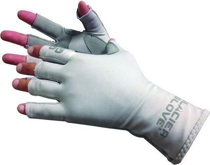 Picture of Glacier 079GY-M Islamorada Sun Glove, Grey