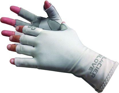 Picture of Glacier 079GY-L Islamorada Sun Glove, Grey
